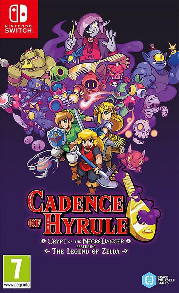 Nintendo Switch Cadence Of Hyrule – Crypt of the NecroDancer Featuring The Legend of Zelda NL