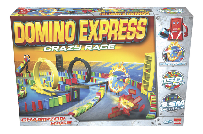 Afbeelding van Domino Express Crazy Race from DreamLand
