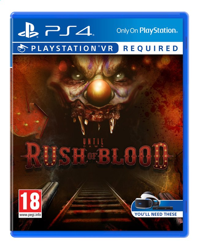 Afbeelding van PS4 VR Until Dawn: Rush of Blood ENG/FR from DreamLand