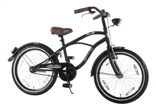 Image pour Volare vélo pour enfants Black Cruiser 20