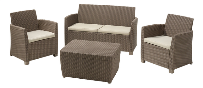 Allibert Ensemble Lounge Corona cappuccino sand | DreamLand