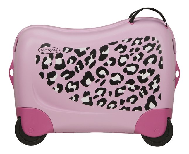 Samsonite harde reistrolley Dream Rider Leopard 50 cm