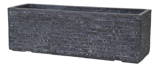 Afbeelding van MCollections rechthoekige bloembak Utah grijs 40 cm from DreamLand
