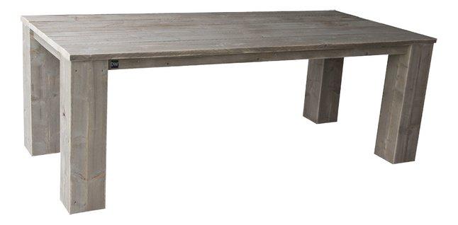 Dutchwood table de jardin brun 160 x 100 cm