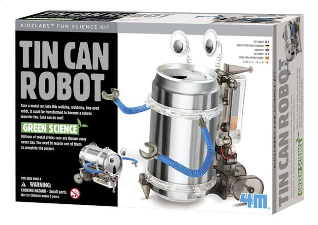 Afbeelding van 4M Green Science Blikken robot from DreamLand
