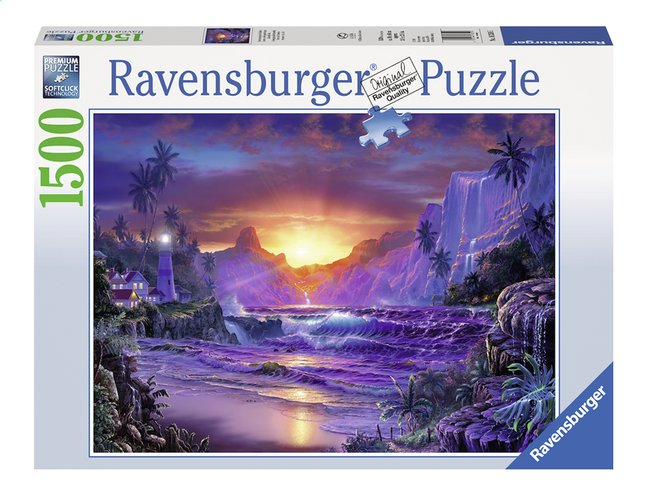 Afbeelding van Ravensburger puzzel Zonsopgang in het Paradijs from DreamLand