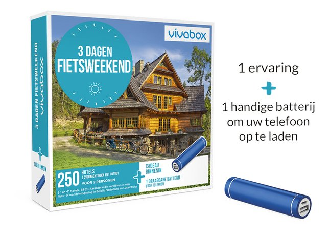 Afbeelding van Vivabox 3 Dagen Fietsweekend from DreamLand