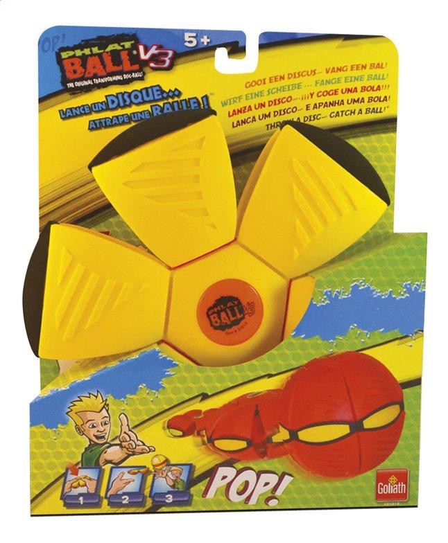 Afbeelding van Goliath frisbee Phlat Ball V3 geel/oranje from DreamLand