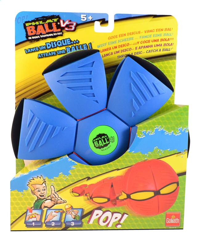 Image pour Goliath frisbee Phlat Ball V3 bleu/vert à partir de DreamLand