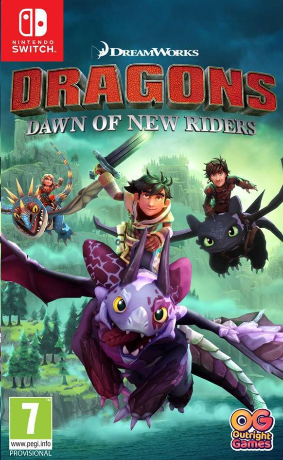 Afbeelding van Nintendo Switch Dragons Dawn of New Riders ENG/FR from DreamLand