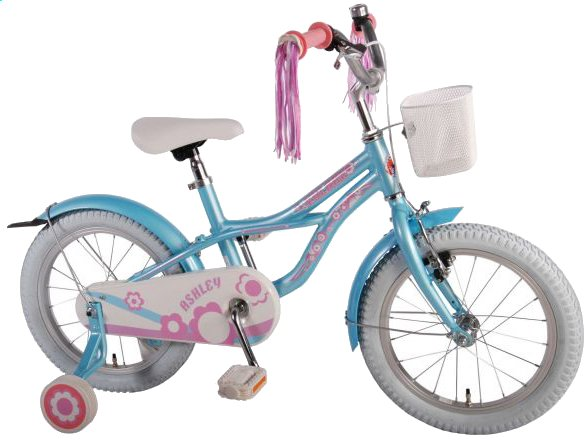 Afbeelding van Volare kinderfiets Ashley Cruiser ice blue 16