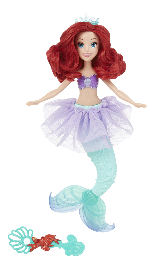 Afbeelding van Mannequinpop Disney Princess Bubble Tiara Ariel from DreamLand