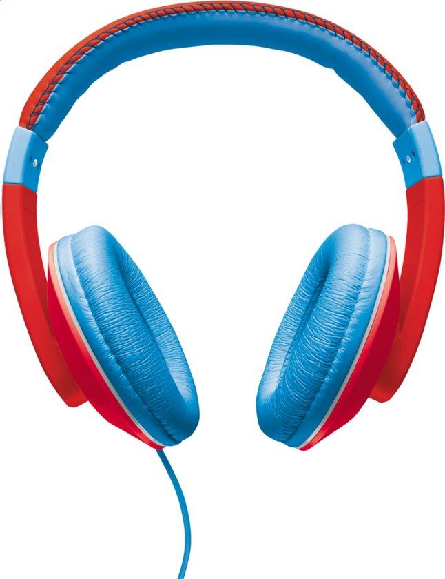 Image pour Trust casque Sonin Kids rouge/bleu à partir de DreamLand