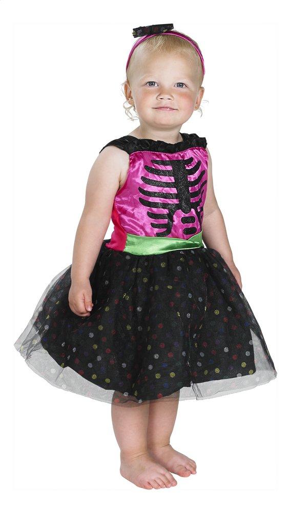 Afbeelding van Verkleedpak skelet met tiara maat 98 from DreamLand