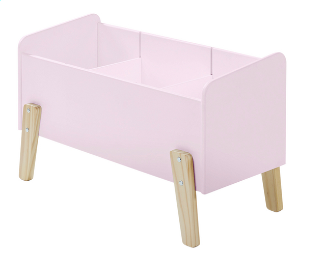 Image pour Coffre à jouets Kiddy rose à partir de DreamLand