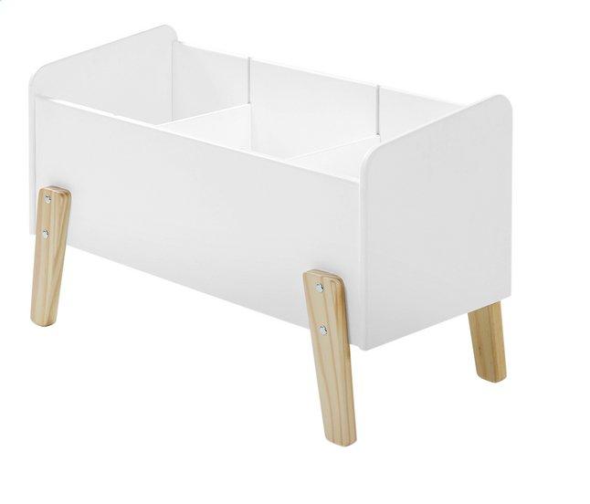 Image pour Coffre à jouets Kiddy blanc à partir de DreamLand