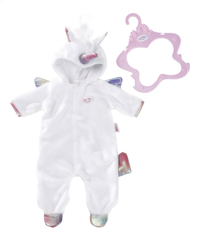 b4b3a76b3354 Image pour BABY born set de vêtements Combinaison Licorne à partir de  DreamLand