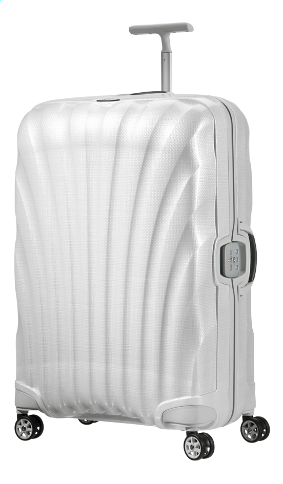 Samsonite Valise rigide Lite-Locked Spinner off white