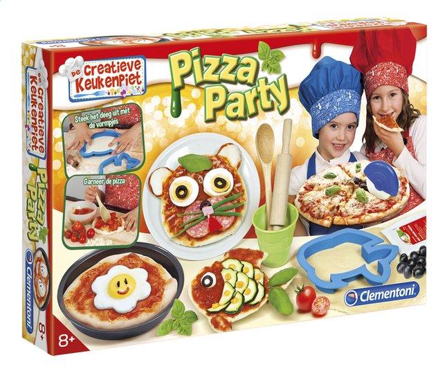 Afbeelding van Clementoni De creatieve keukenpiet: Pizza Party from DreamLand