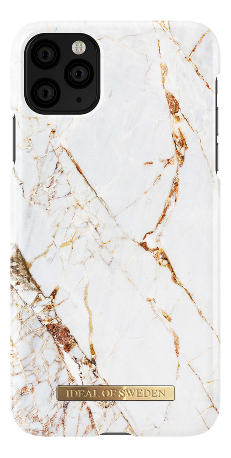 iDeal of Sweden coque Fashion Carrara Gold pour iPhone 11 Pro Max