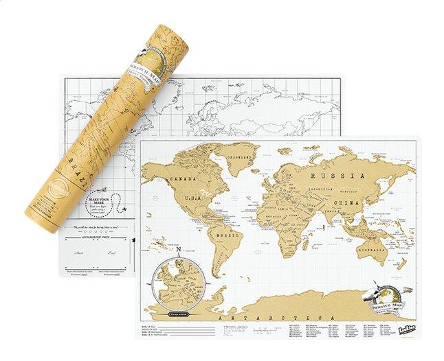 Image pour Scratch Map carte du monde - édition voyage à partir de DreamLand