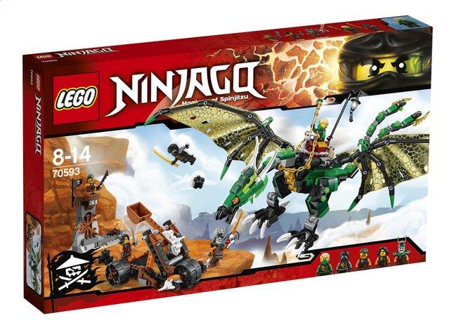 Image pour LEGO Ninjago 70593 Le dragon émeraude de Lloyd à partir de DreamLand