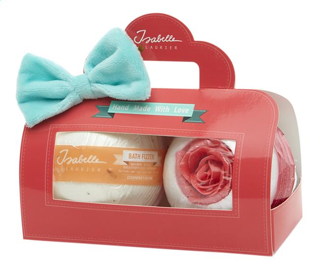 Isabelle Laurier geschenkset Miss Coral 2 badbruisballen