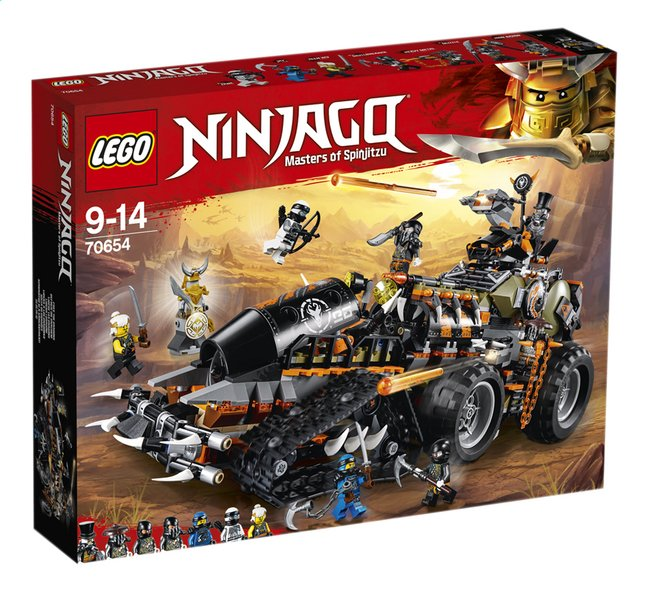 Afbeelding van LEGO Ninjago 70654 Dieselnaut from DreamLand