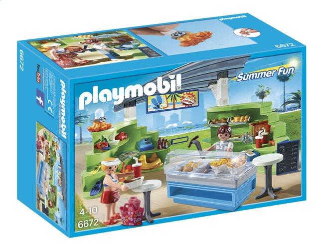 Afbeelding van Playmobil Summer Fun 6672 Winkel met snackbar from DreamLand
