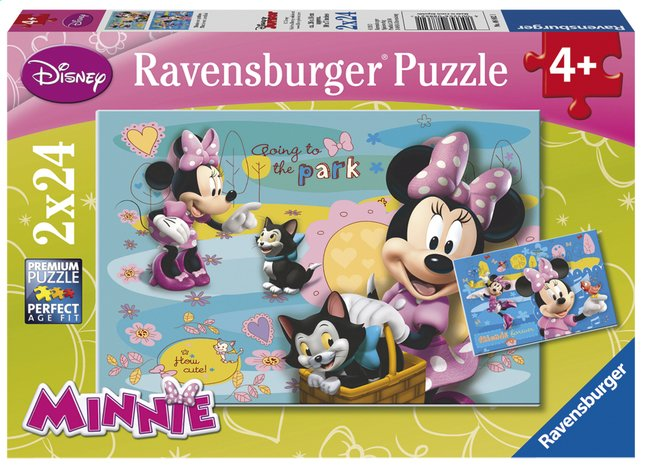 Afbeelding van Ravensburger puzzel 2-in-1 Minnie Mouse from DreamLand