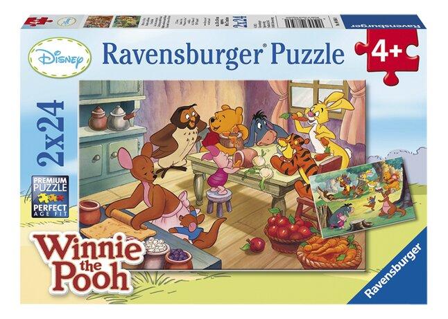 Afbeelding van Ravensburger puzzel 2-in-1 Bakken en feesten met Winnie from DreamLand