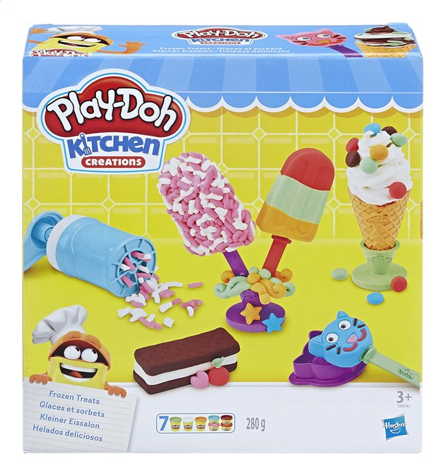 Afbeelding van Play-Doh Kitchen Creations Frozen Treats from DreamLand