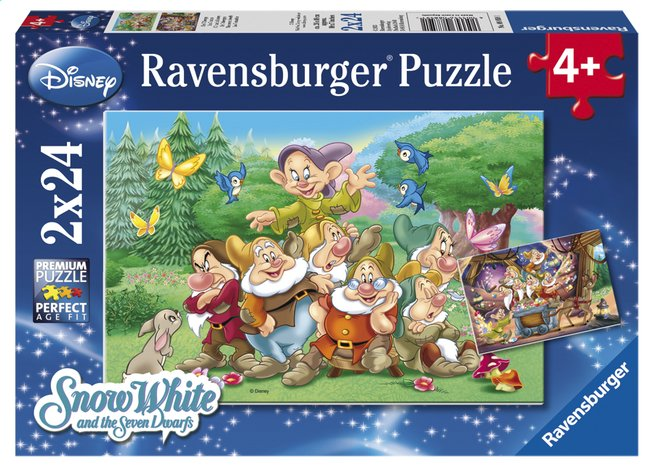 Image pour Ravensburger puzzle 2 en 1 Les 7 nains à partir de DreamLand