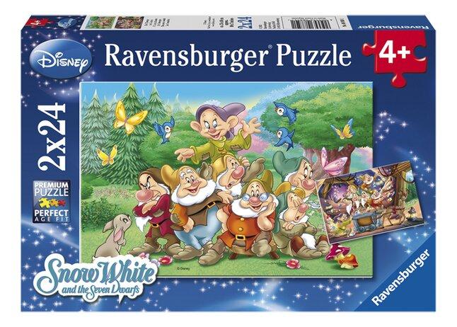 Afbeelding van Ravensburger puzzel 2-in-1 De 7 dwergen from DreamLand