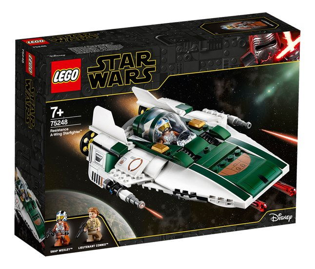 Afbeelding van LEGO Star Wars 75248 Resistance A-Wing Starfighter from DreamLand