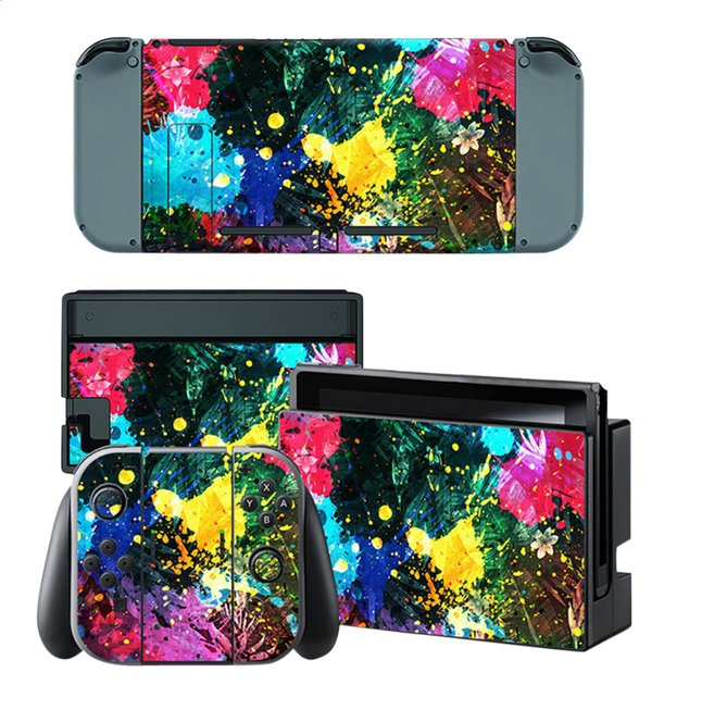 Afbeelding van Nintendo Switch Console Skins Color Splash from DreamLand