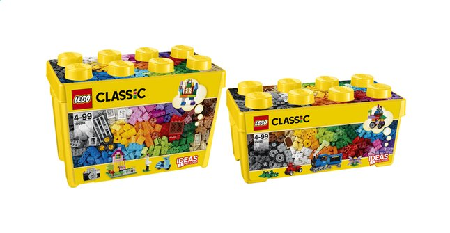 Image pour LEGO Classic 10696 Creative Brick Box Medium + 10698 Creative Brick Box Large à partir de DreamLand