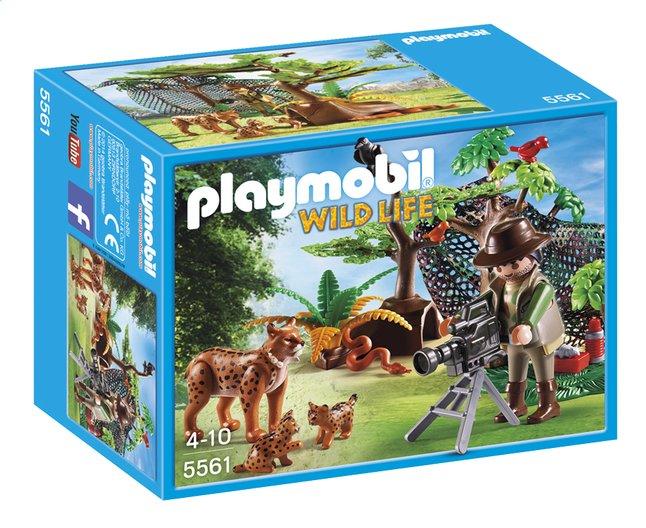 Image pour Playmobil Wild Life 5561 Explorateur et famille de lynx à partir de DreamLand