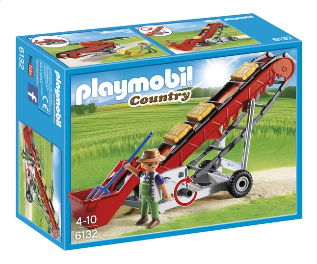 Afbeelding van Playmobil Country 6132 Mobiele transportband from DreamLand