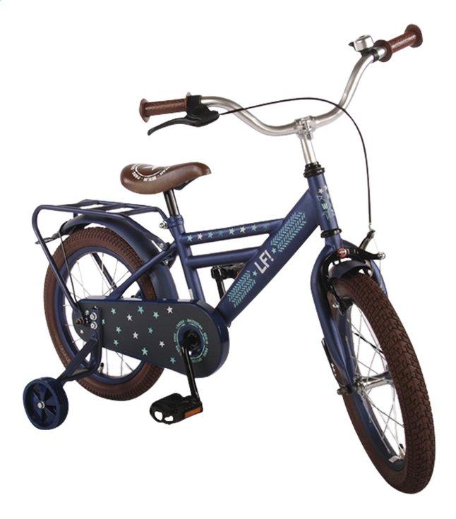Afbeelding van Kinderfiets LF Boy mat blauw 16