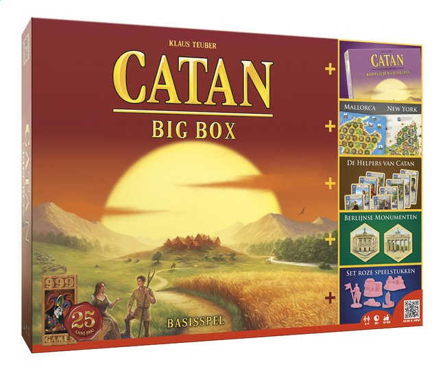 Afbeelding van De kolonisten van Catan Big Box from DreamLand