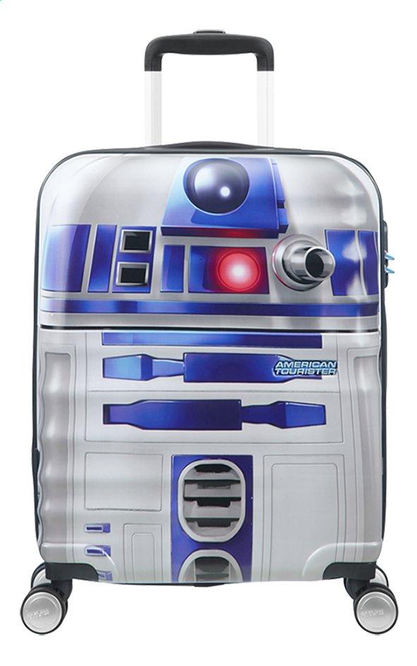 Afbeelding van American Tourister harde reistrolley Wavebreaker Disney Star Wars R2-D2 grijs 55 cm from DreamLand