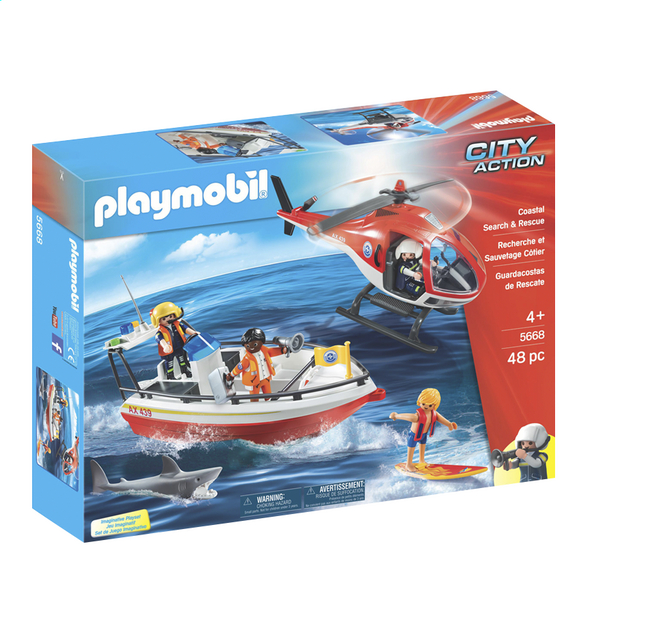 Afbeelding van Playmobil City Action 5668 Kustwacht from DreamLand