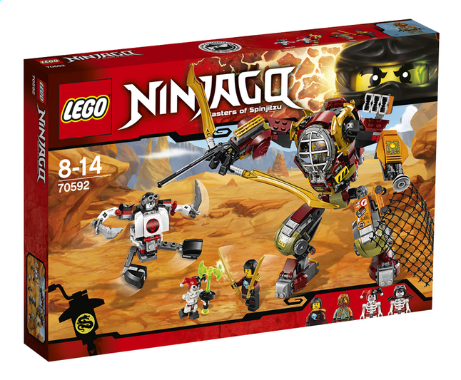 Image pour LEGO Ninjago 70592 Le robot de Ronin à partir de DreamLand