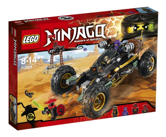 Afbeelding van LEGO Ninjago 70589 Rock Roader from DreamLand