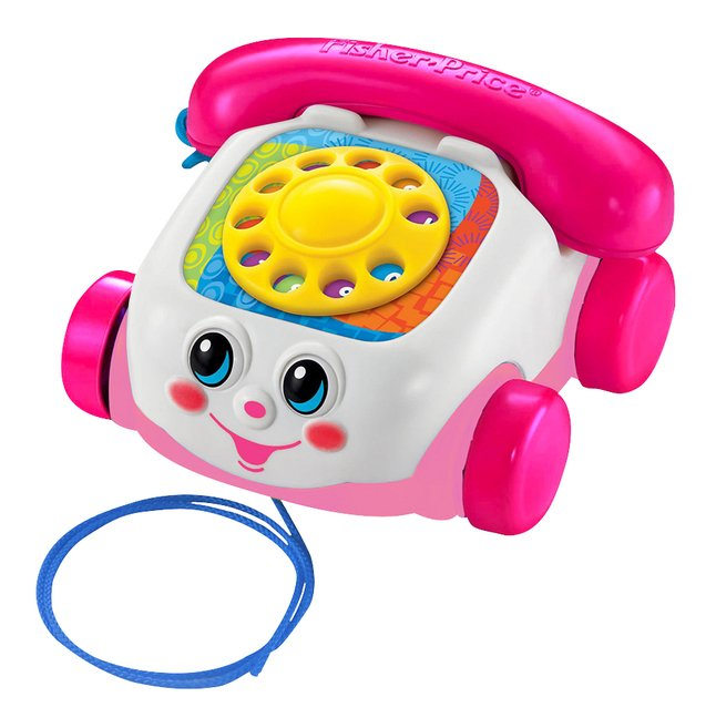 Afbeelding van Fisher-Price telefoon Chatter Telephone roze from DreamLand