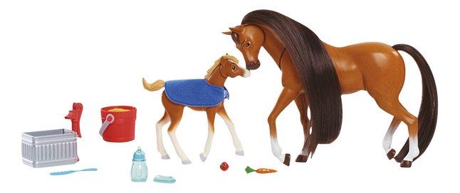 Afbeelding van Speelset Spirit Feed & Nuzzle Paard met veulen from DreamLand