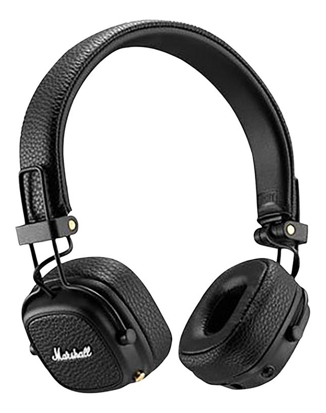 Marshall casque Bluetooth Major III noir