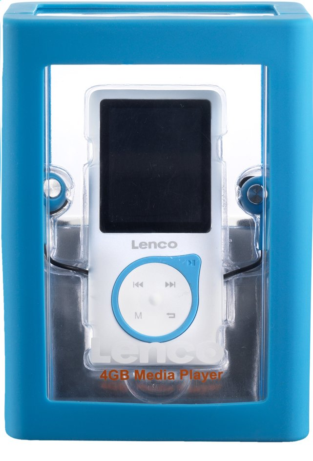 Image pour Lenco lecteur MP4 Xemio-657 4 Go bleu à partir de DreamLand