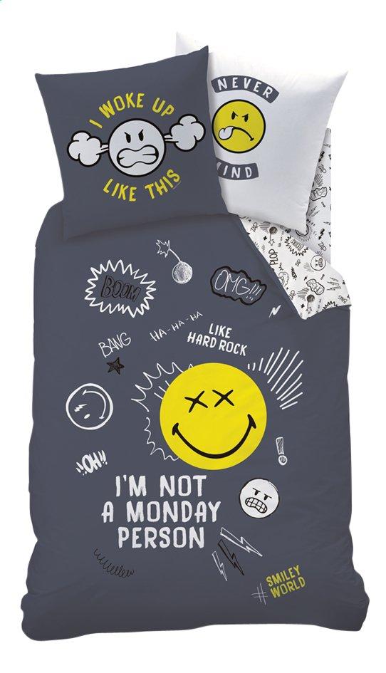 Afbeelding van Dekbedovertrek Smiley Monday katoen 140 x 200 cm from DreamLand